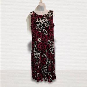 Julian Taylor Dress sleeveless size 16 floral